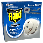 Raid® Night & Day™ Aparato
